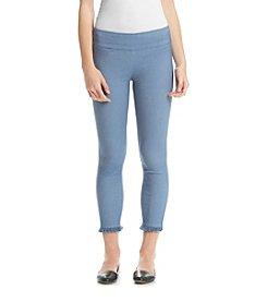 XOXO® Pull On Style Leggings With Fringe