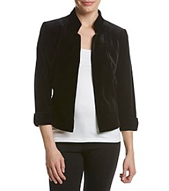 Tahari® Velvet Collar Jacket