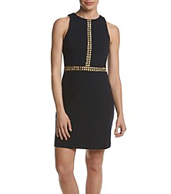 MICHAEL Michael Kors® Studded Trim Dress