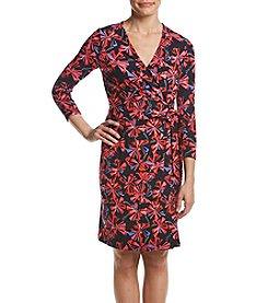 Anne Klein® Classic Wrap Dress