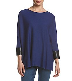 Joan Vass® Boatneck Dolman Top