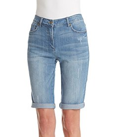 Jones New York® Bleecker Cruise Shorts