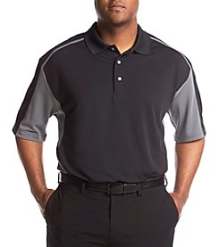 PGA TOUR® Men's Big & Tall Two-Tone Airflux Polo