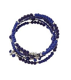 Studio Works® Multi Row Seed Bead Bracelet