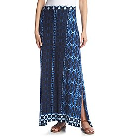 Joan Vass® Tie Dye Maxi Skirt