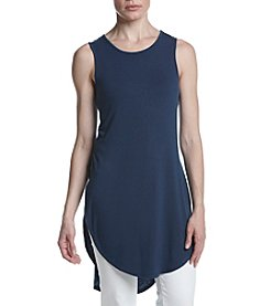 Joan Vass® Open Sides Tunic Top