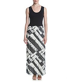 Calvin Klein Print Maxi Skirt Dress
