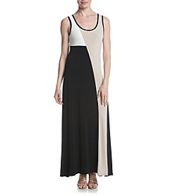 Calvin Klein Colorblock Maxi Dress