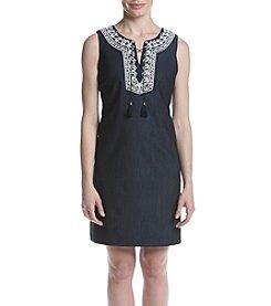 Ivanka Trump® Embroidered Dress