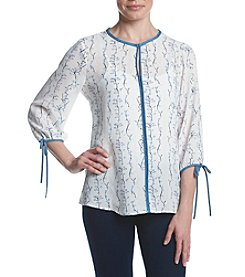 Ivanka Trump® Splitneck Blouse