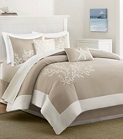 Harbor House Coastline Cotton 6-Piece Comforter Set with Embroidery
