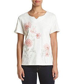 Alfred Dunner® Embroidered Knit Top