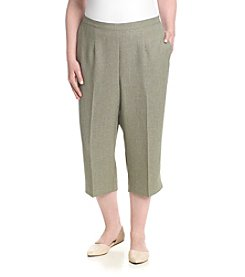 Alfred Dunner® Plus Size Cropped Pants
