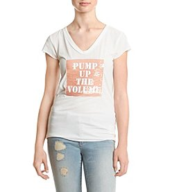 William Rast® Viva Pump Up Volume Graphic Tee
