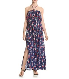 Living Doll® Floral Print Maxi Dress