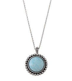City x City Gemstone Pendant Necklace