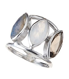 City x City Marquise Trio Ring
