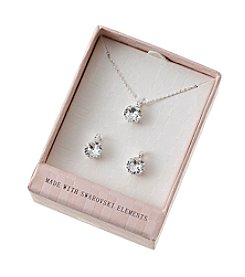 City x City Earrings And Necklace Set