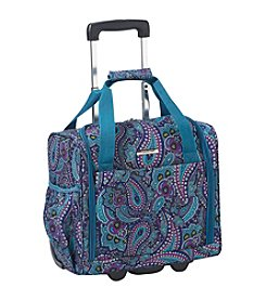 Leisure Teal Paisley Under Seat Bag