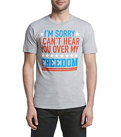 Mad Engine Men's Cant Hear You Graphic Tee