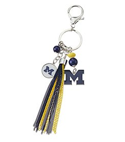 accessory PLAYS™ NCAA® Michigan Wolverines Keychain And Tassel