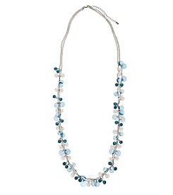 Studio Works® Two Row Beaded Necklace