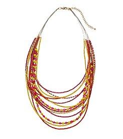 Studio Works® Multi Row Seed Bead Necklace