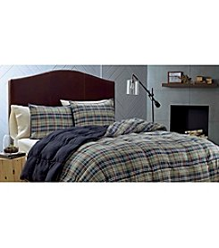 Eddie Bauer® Rugged Plaid Comforter & Sham Set