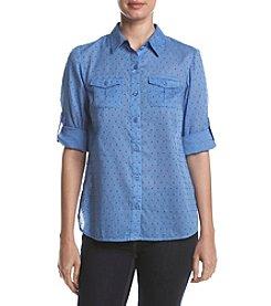 Studio Works® Clip Dot Camp Shirt