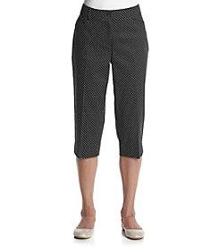 Studio Works® Petites' Dot Capri Pants