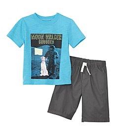 Nannette® Boys' 2T-7 2-Piece Moon Walker Buddies Set