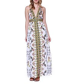 Skylar & Jade™ Border Maxi Dress