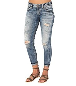 Silver Jeans Co. Kenni Destructed Boyfriend Jeans