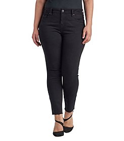 Silver Jeans Co. Plus Size Skinny Ankle Jeans