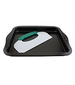 BergHoff® Perfect Slice Cookie Sheet with Cutting Tool