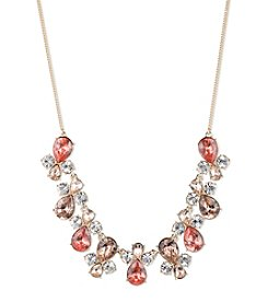 Givenchy® Simulated Crystal Frontal Necklace