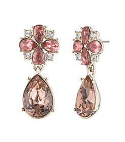 Givenchy® Faceted Teardrop Drop Earrings