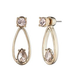 Givenchy® Silk Simulated Crystal Floater Earrings