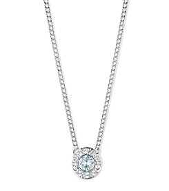 Givenchy® Simulated Crystal Necklace And Earring Set