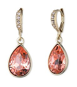 Givenchy® Teardrop Simulated Crystal Drop Earrings