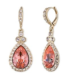 Givenchy® Simualted Crystal Encrusted Drop Earrings