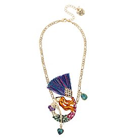 Betsey Johnson® Mermaid Pendant Necklace