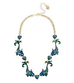 Betsey Johnson® Fish Collar Necklace