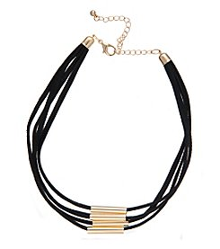 Robert Rose Curve Bar Cord Choker