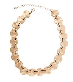 Robert Rose Overlap Disc Cord Necklace