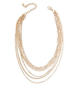 Robert Rose 7 Row Chain Choker