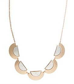 Robert Rose 5 Piece Crescent Shape Cast Necklace