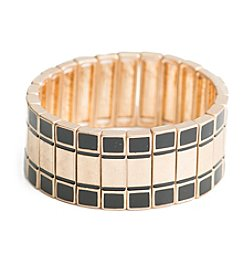 Robert Rose Wide Stretch Casted Bracelet
