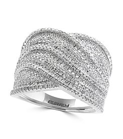 Effy® 925 Silver Diamond Ring