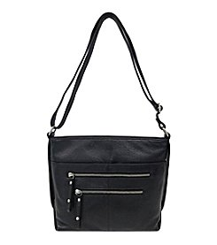 GAL Leather East West Crossbody